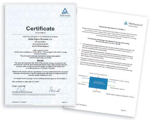 Atesty i certyfikaty